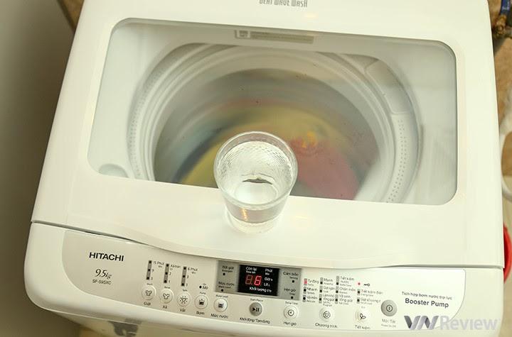 máy giặt Hitachi SF-S95XC chạy êm