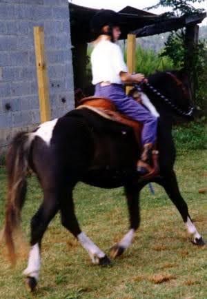 Skye rides AJ