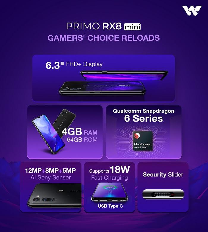 Walton Primo RX8 mini