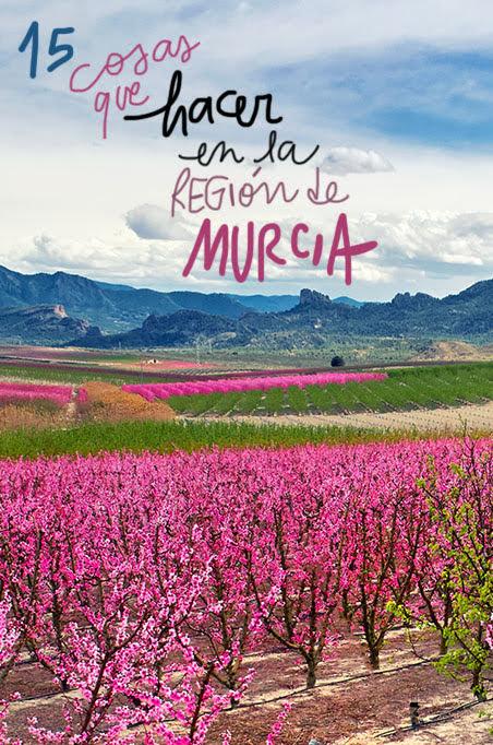que ver y hacer en Murcia