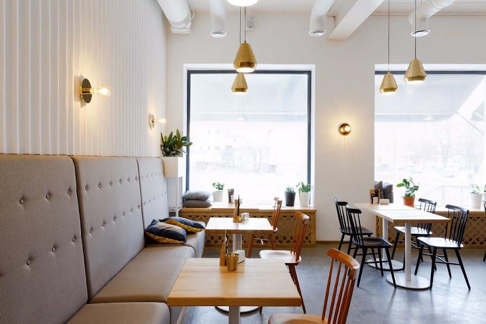 sofa quán cà phê