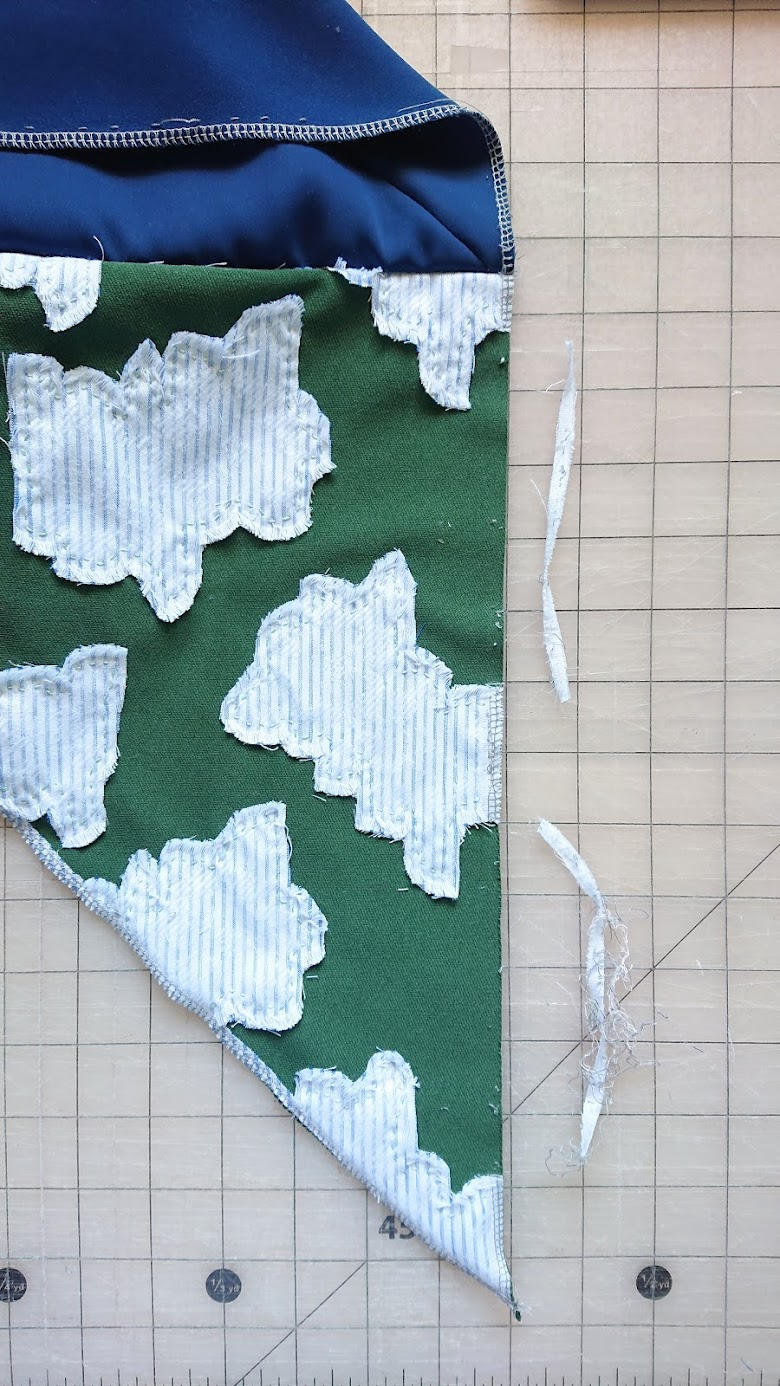 Fixing right sleeve of 6-Square Origami Top | FAFAFOOM STUDIO