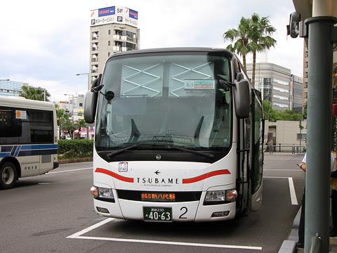 JR九州バス「B&Sみやざき」 4063 宮崎にて