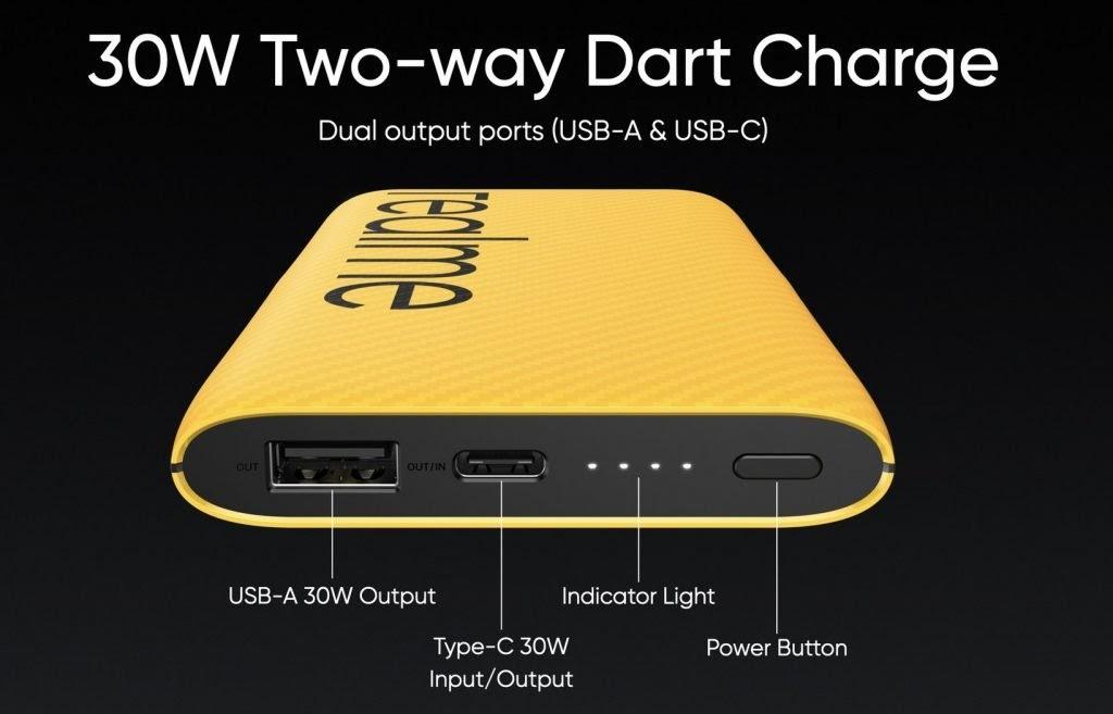 Realme ra mắt sạc dự phòng 30W Dart Charge 10000mAh tại thị trường ...