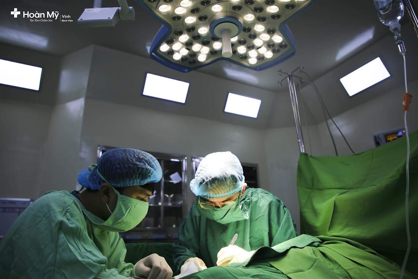 BVQT Vinh hiện có đội ngũ Bác sĩ, nhân viên y tế có nhiều kinh nghiệm phẩu thuật cho trẻ khuyết tật