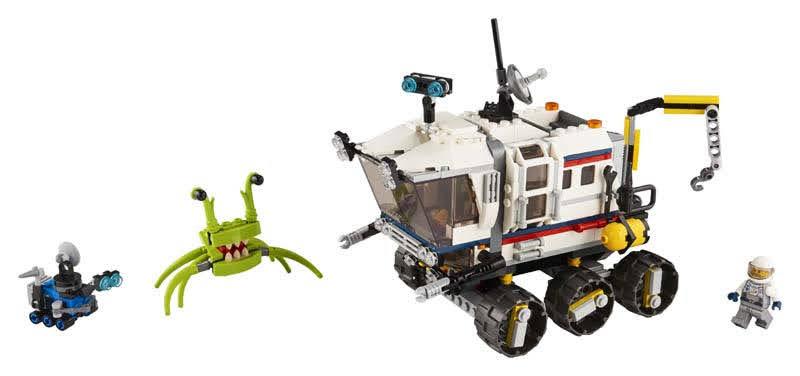 Contenido de Lego® 31107 Róver Explorador Espacial