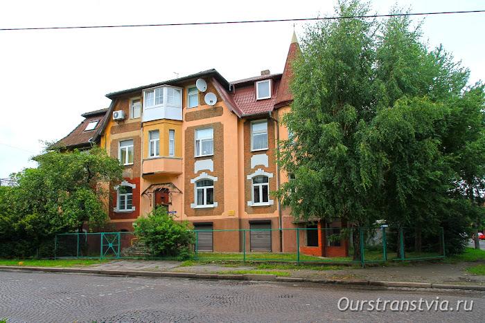 Немецкие дома в Марауненхоф, Кенигсберг