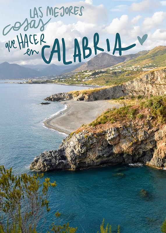 que ver y hacer en Calabria
