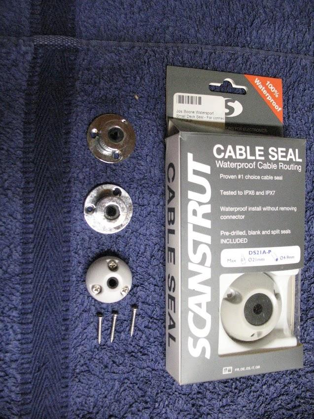 Nic31 onderdelen aangeboden: kabeldoorvoer nieuw in doos