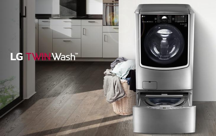 Máy giặt LG TwinWash - máy giặt lồng đôi đầu tiên tại Việt Nam