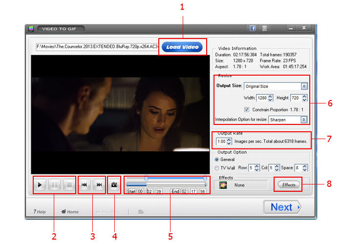 [Free Giveaway] Registration Code of Video to GIF v5.3 for PC - Convert Video Clips to Animated GIF