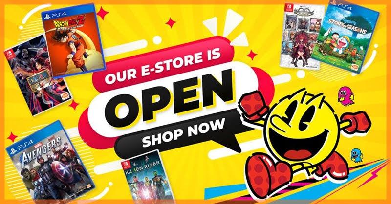 BANDAI NAMCO Entertainment Asia เปิดตัวร้านค้าออนไลน์ e-store