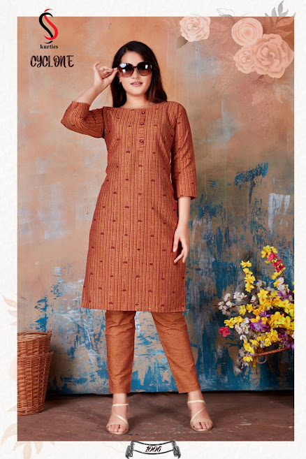 Buy Ss Cyclone Branded Kurta Pant Set Catalog Online Wholesa