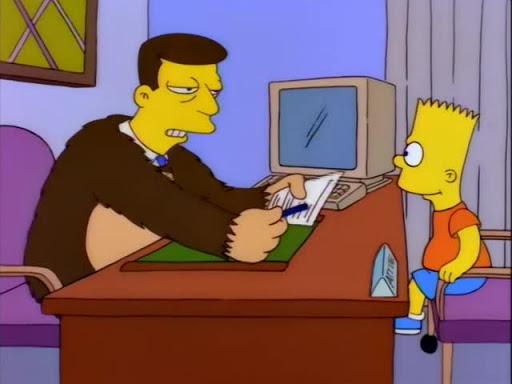 Los Simpsons 7x15 Bart el soplon
