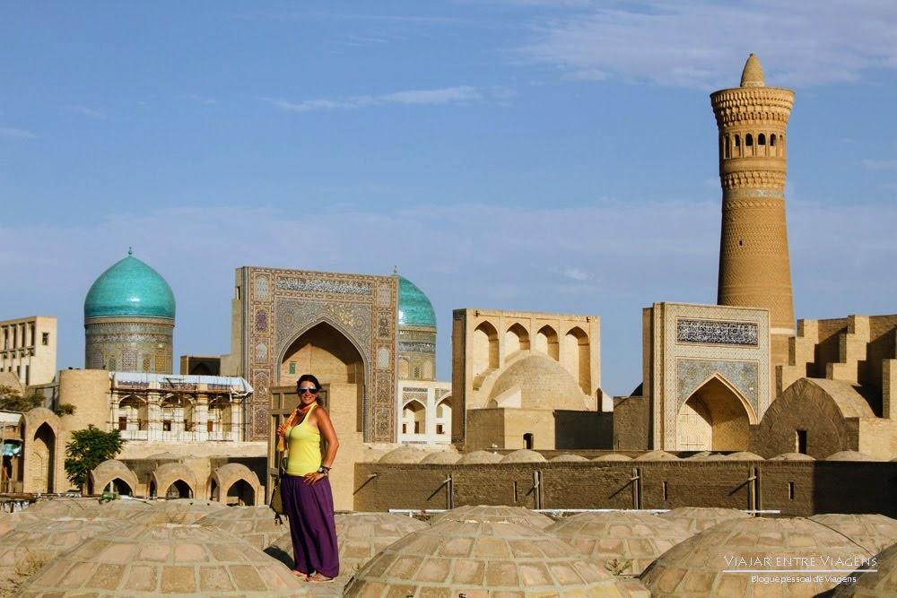 Viajar no Uzbequistão