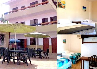 Hotel Chacon Manglaralto con patio para eventos