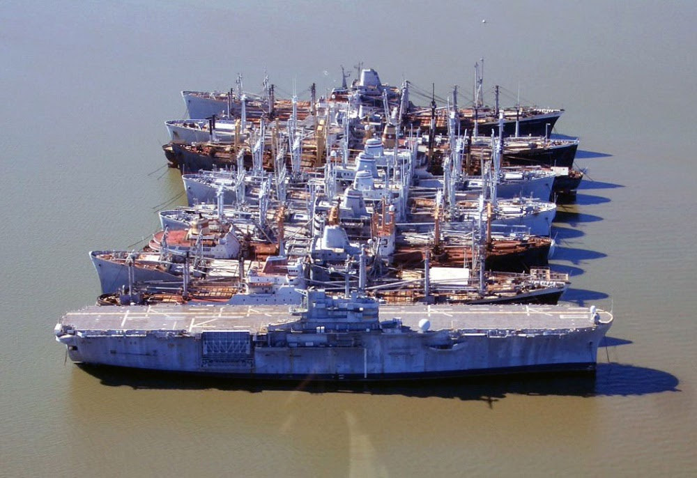 NDRF, a frota de navios fantasmas dos Estados Unidos