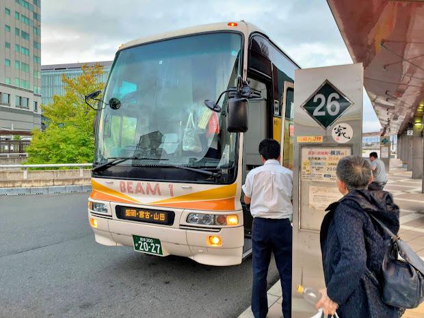 BEAM-1号に乗ってきました(横浜・東京発岩手行夜行バス)