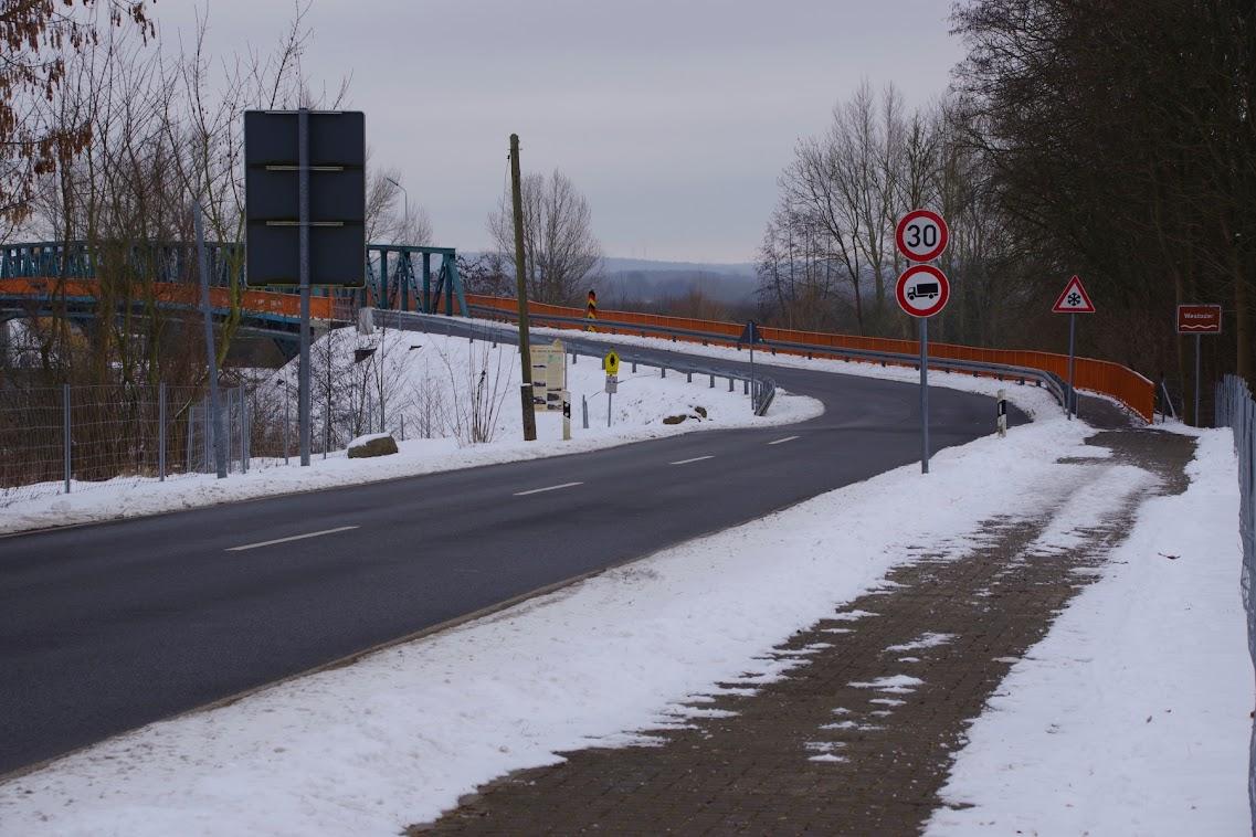 Die Grenzbrücke in Mescherin. Archivbild: A. Schwarze (asc)