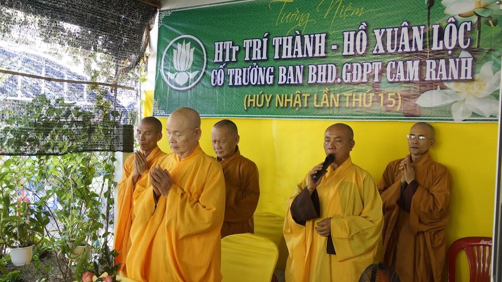 Tưởng nguyện húy nhật thứ 15 cố HTr Trí Thành – Hồ Xuân Lộc