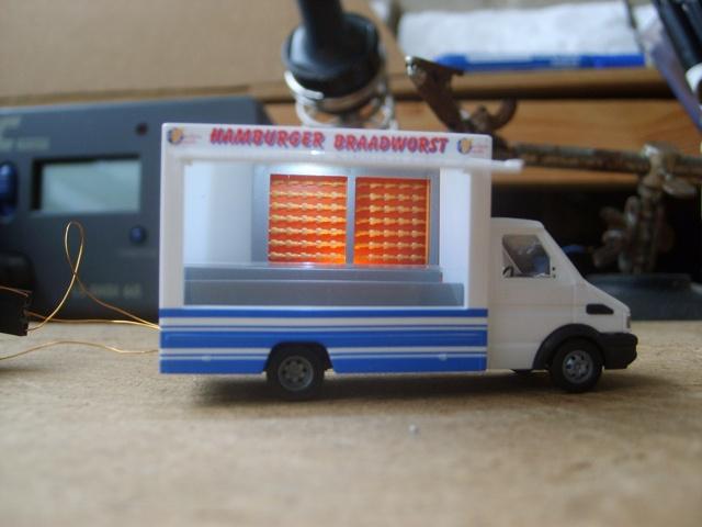 Busch 47919 Iveco snack verkoopwagen