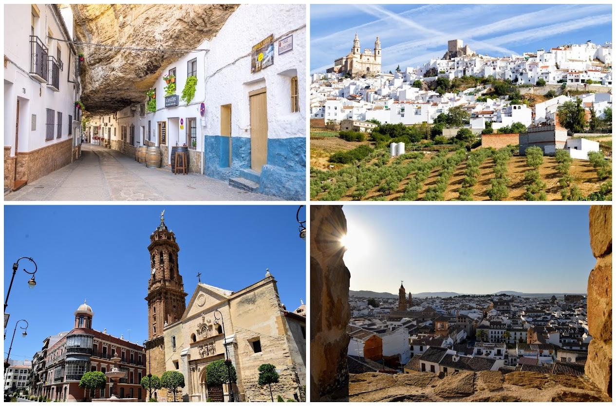 Setenil de las Bodegas, Olvera y Antequera