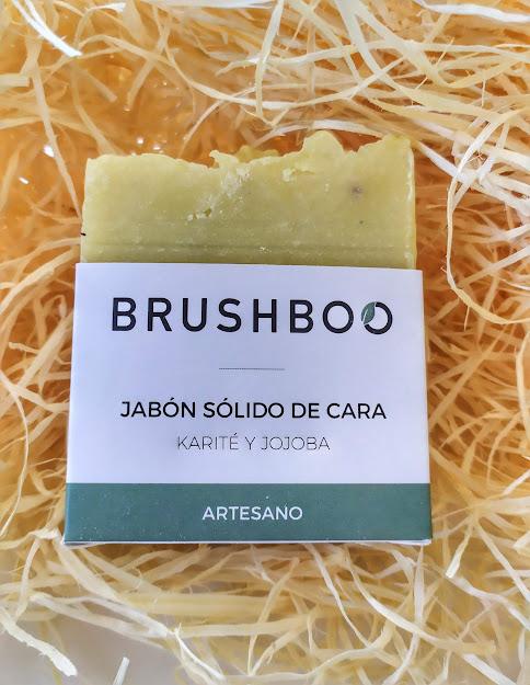 Brushboo jabón de cara