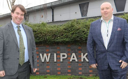 MP views £5m investment at Welshpool firm