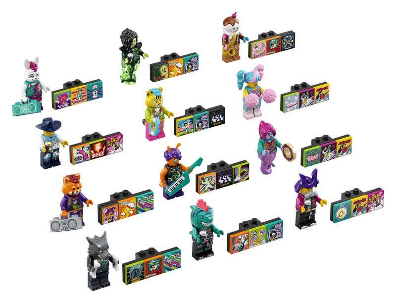Contenido de Lego® 43101 Bandmates