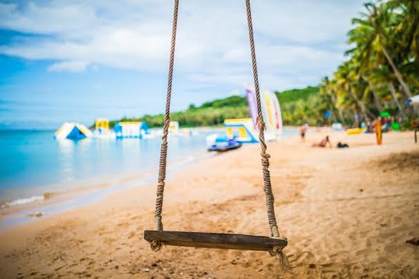 The beach on Hon Thom island