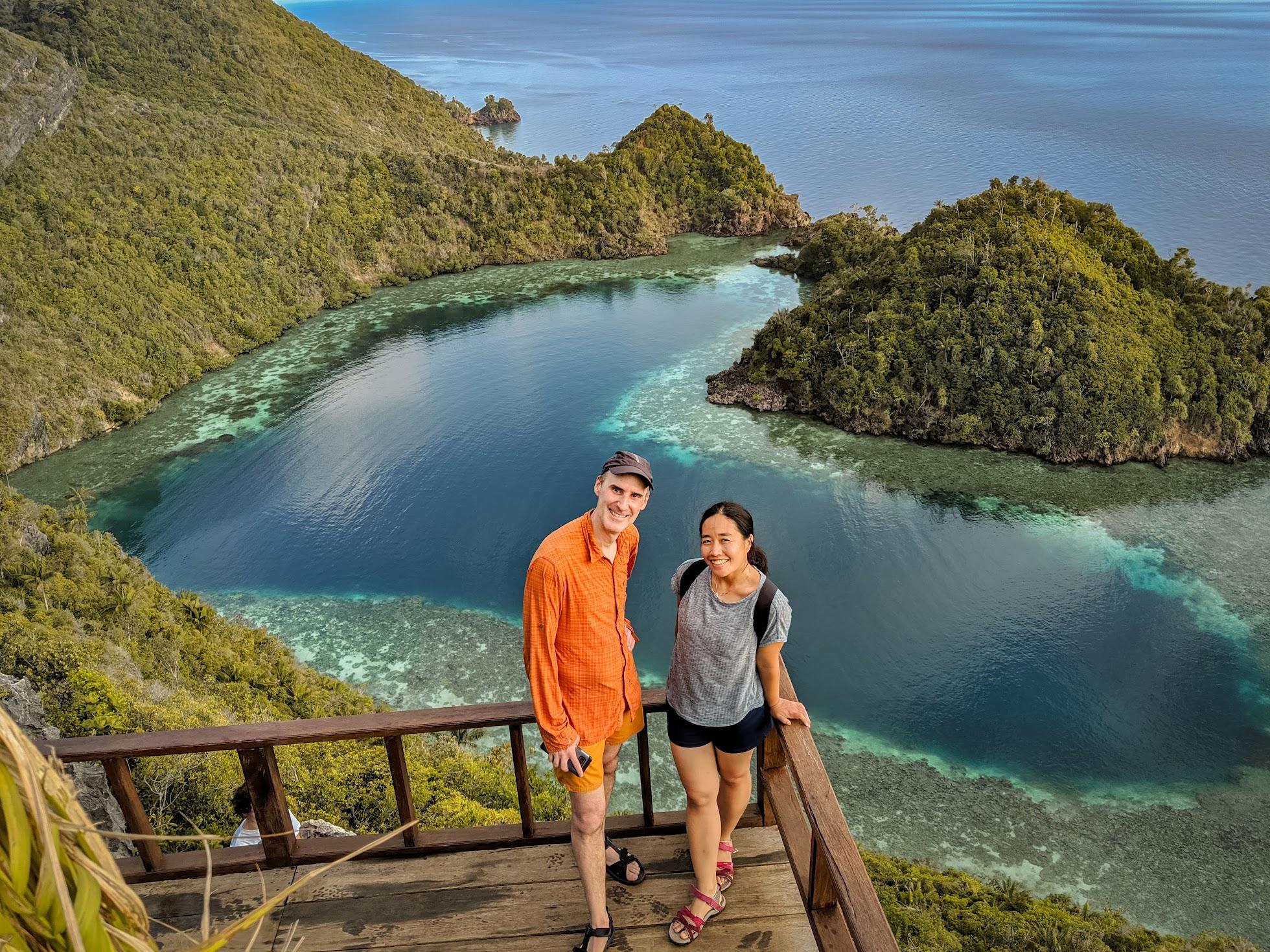 One of the Love Lagoons in Raja Ampat