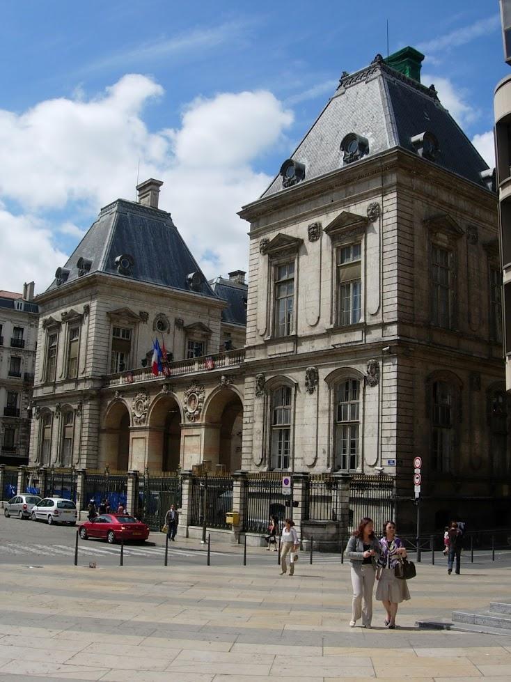 Hôtel de ville à Lyon