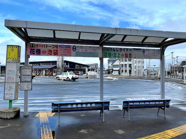 花巻駅前3番のりば