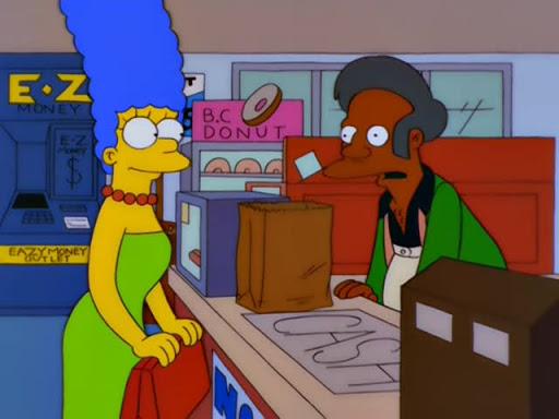 Los Simpsons 10x14 Me acompaña cupido