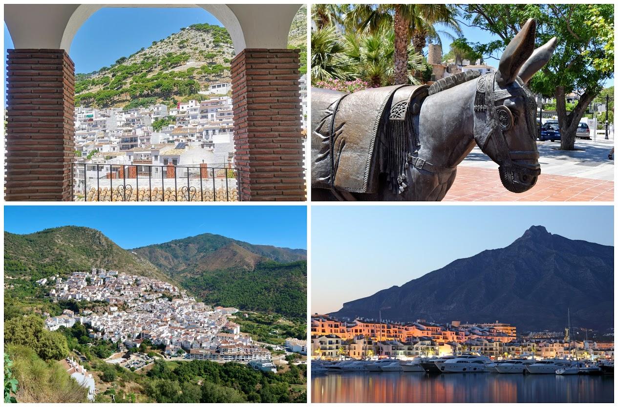 Mijas, Monda y Marbella