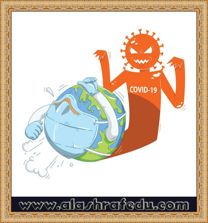World Corona Virus Attack Concept Cartoon ACtC-3f8NyEc5PfcxWAw