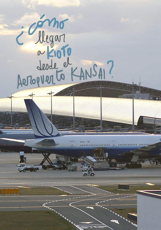 como llegar a Kioto desde aeropuerto Kansai