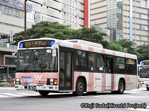 西鉄 那珂川 2783 渡辺通幹線バス