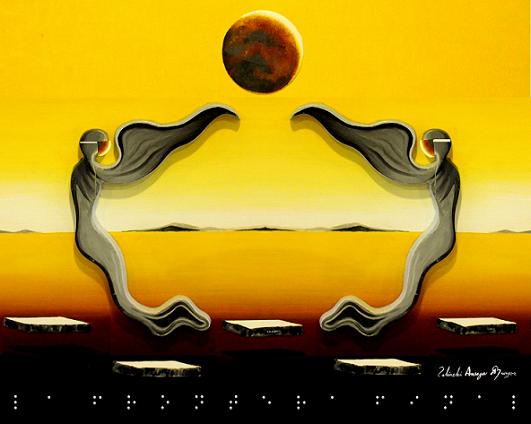 Arte Digital enviado a la Organización de las Naciones Unidas ONU Artista lalinchi Arreaga Burgos E.E.A.B