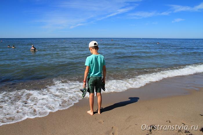 Янтарный пляж, Калининград