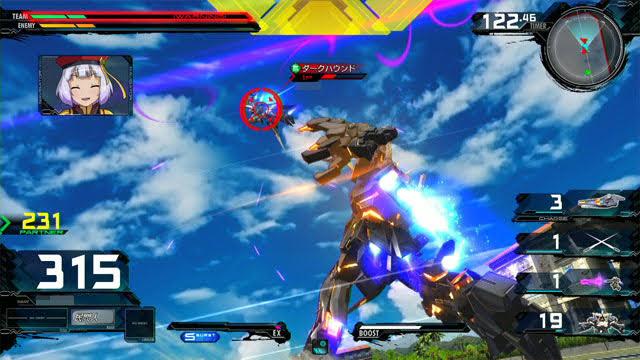 バンシィ(デストロイモード) N特殊格闘