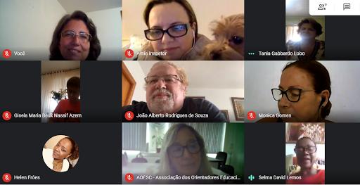 Reunião virtual FESED