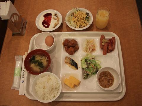太平洋フェリー 新「きたかみ」 7デッキ レストラン「グリーンプラネット」_06 朝食