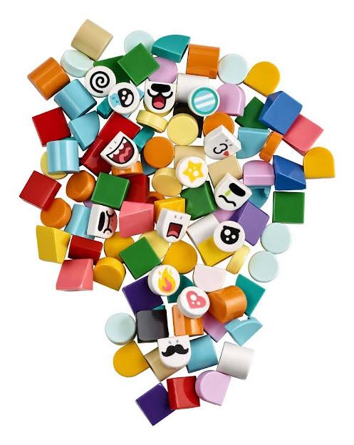 Contenido de LEGO® 41931 DOTS Extra: Edición 4