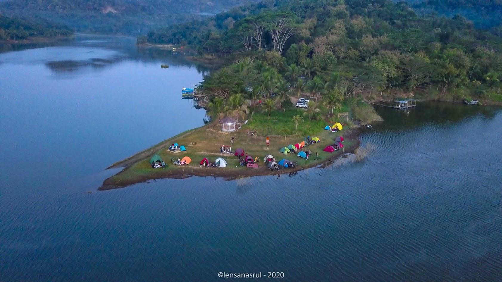 Landscape Bambu Air Waduk Sermo