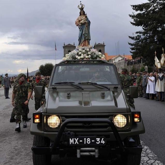 Nossa Senhora dos Remédios fará visitação à cidade de Lamego em veículo automóvel no dia 8 setembro