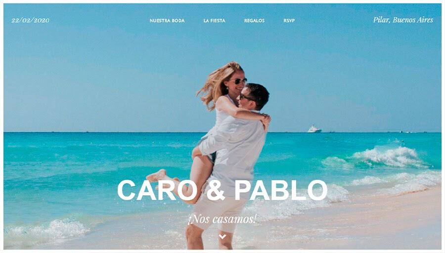 CARO Y PABLO