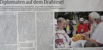 Faksimile: Zeitungsseite (Ausschnitt).
