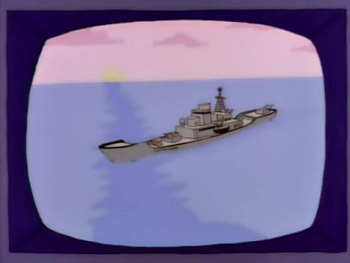 Los Simpsons 9x19 Mi querido capitán Simpson