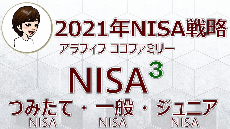アラフィフ主婦ココファミリーの楽天証券のNISA戦略2021年版